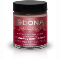 Dona Kissable Body Paint - STRAWBERRY SOUFFLE