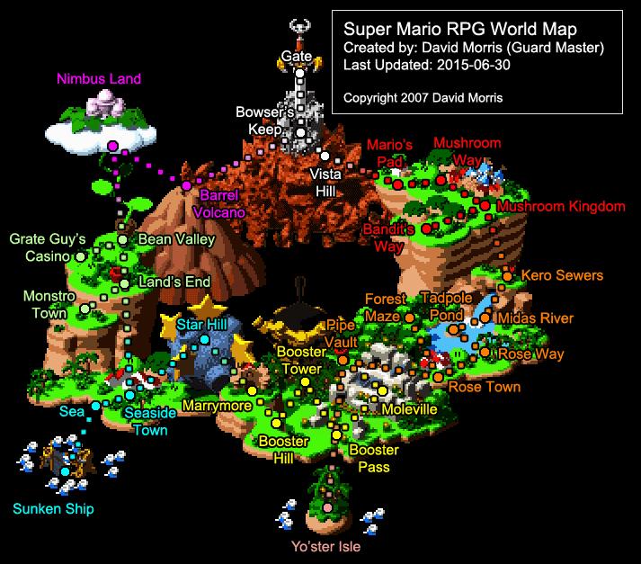 Mushroom World Map.Misadventures In Mapping Mario Vovatia