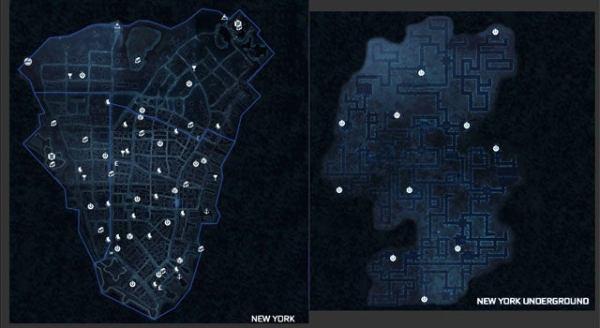 Assassin's Creed III - Maps