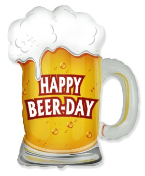 Happy Beer-Day Balloon