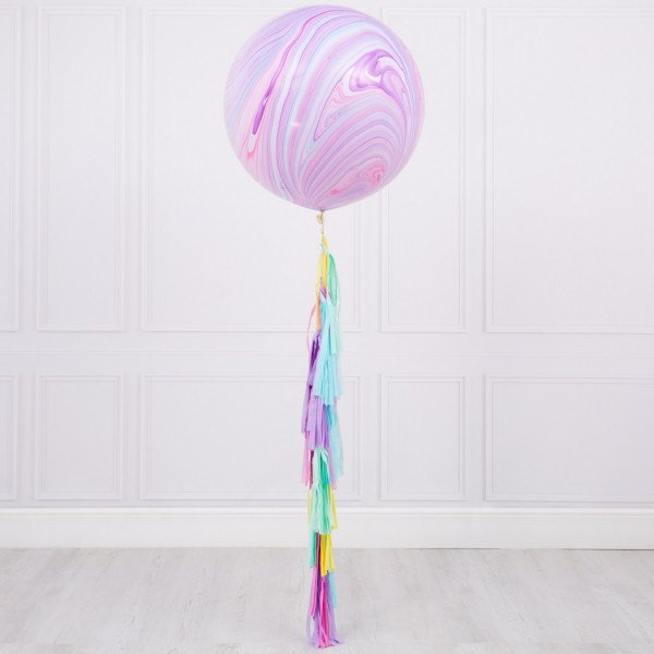 XL Marble with tassel