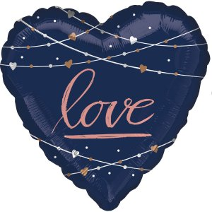Large Love Heart Helium Balloon – 80 cm