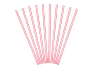 """Cocktail straws """"Pink"""" (10 pieces)"""