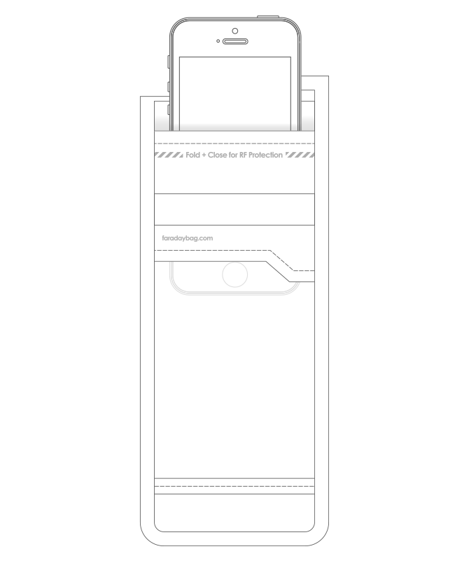 Laboratuvar Tipi Faraday Telefon Kılıfı (PS2)