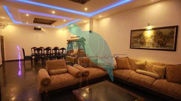 Luxury Air conditioned Beach Hut Rental Hawksbay Karachi - VIP-2