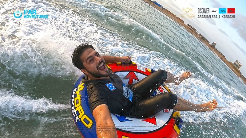 Watersports Towable Single Donut Ride