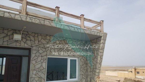 Rent Luxury Beach Hut at Turtle Beach Karachi - TB2