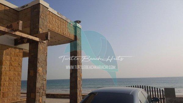 Luxury Airconditioned Beach Hut Rental Karachi - VIP-1