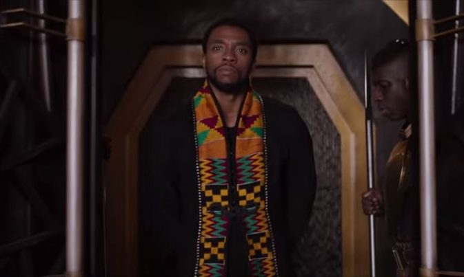 black panther Kente