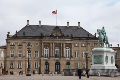 A dán királyi palota