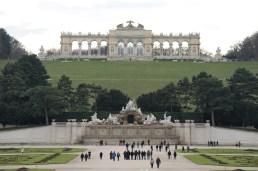 A Schönbrunn-i kastély parkja