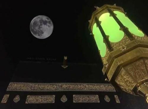Fenomena Supermoon di Mekah