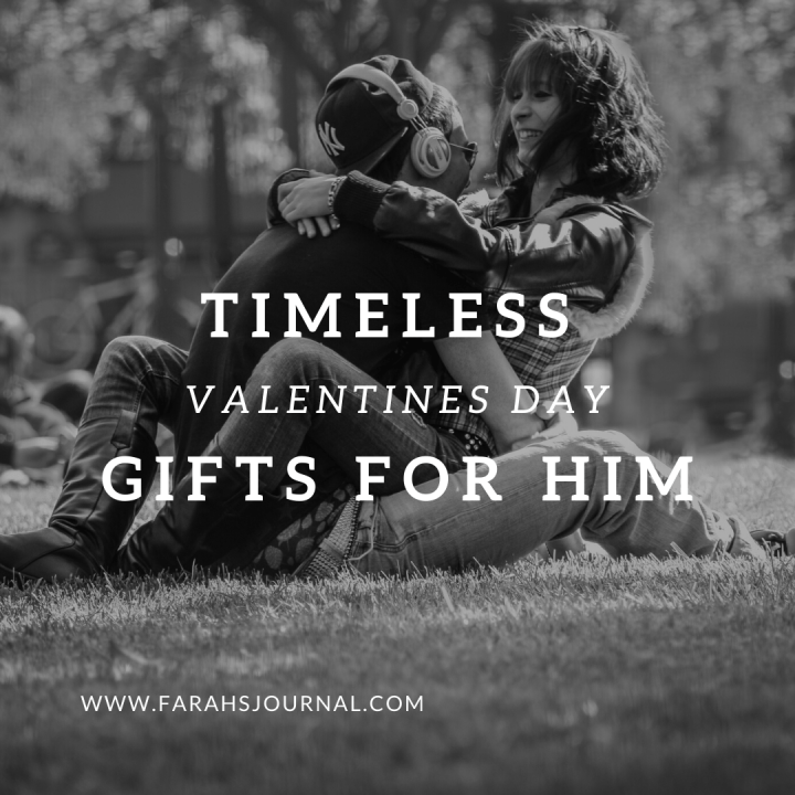Gifts for him on Valentine's Day (or any other day)