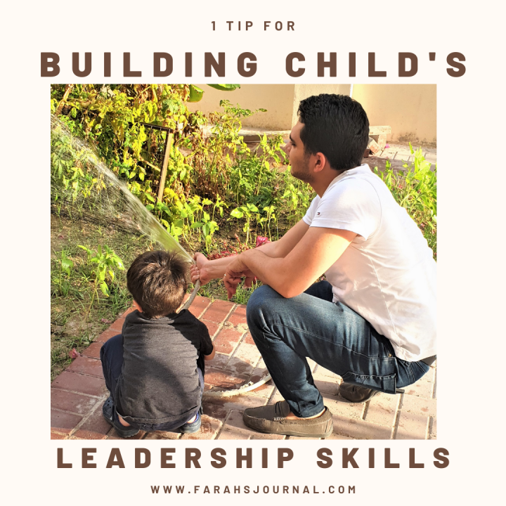 1 Tip for building Your child's leadership skills