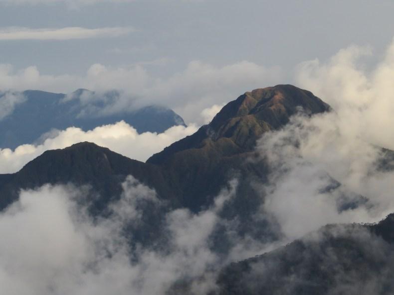 Montañas de la cordillera Occidental, Farallones del Citará, Antioquia, Colombia