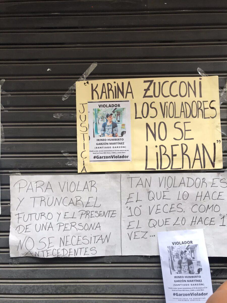 venezolana violada en argentina -jueza libera a violador