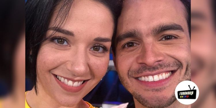Daniela Alvarado y su novio José Manuel Suárez