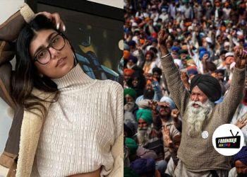 Mia Khalifa y Rihanna se unen por los agricultores de la India