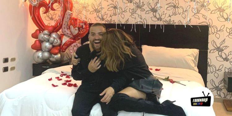 La sorpresa que le dio Nacho a Melany este 14 de febrero