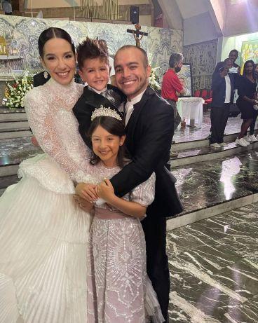 Daniela, Mauricio, Sophia y José Manuel