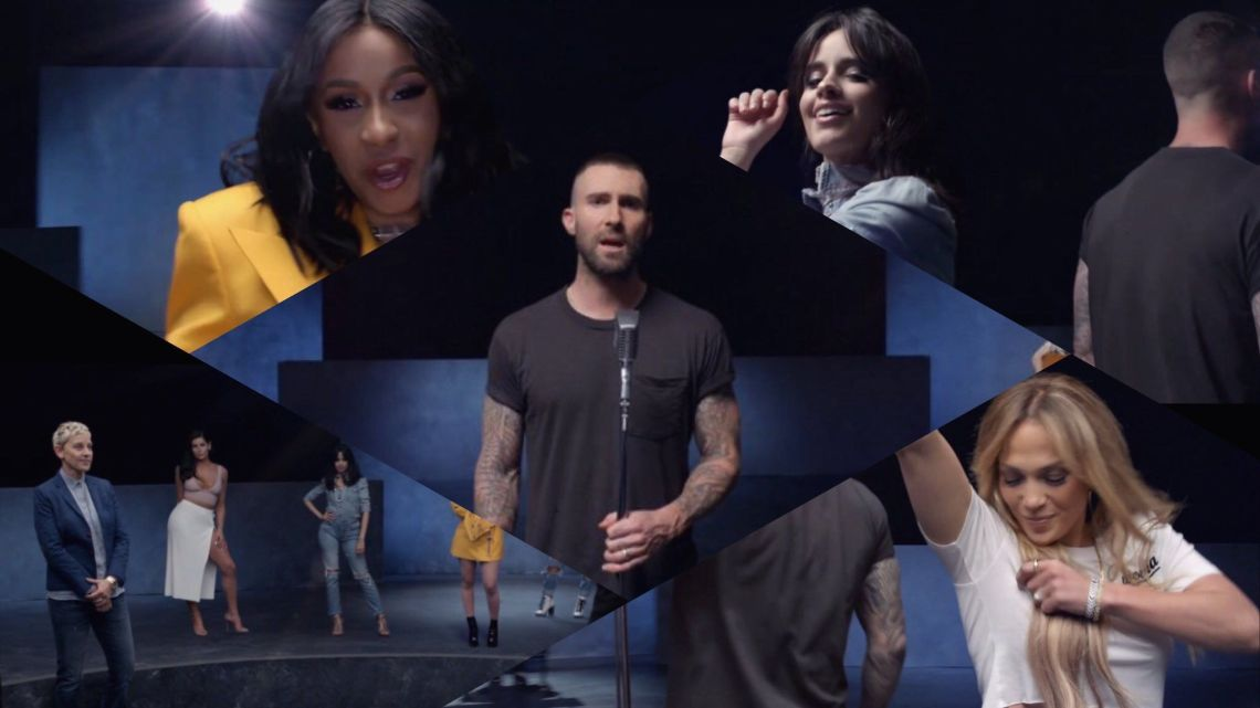 A Girl Like You – Maroon 5 con Cardi B