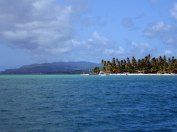 Tobago from the boat