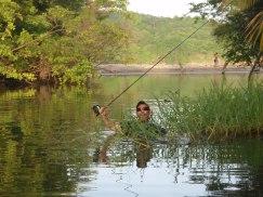 Warren in the River