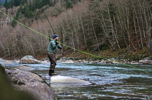 Fishing the Skykomish