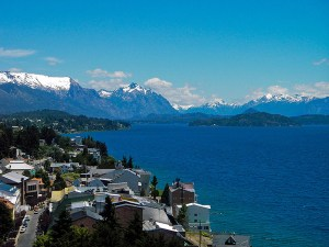 Bariloche on the shores of Lago Nahuel Huapi