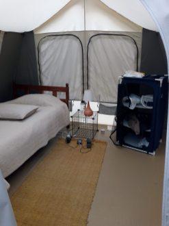 Single Tent - inside