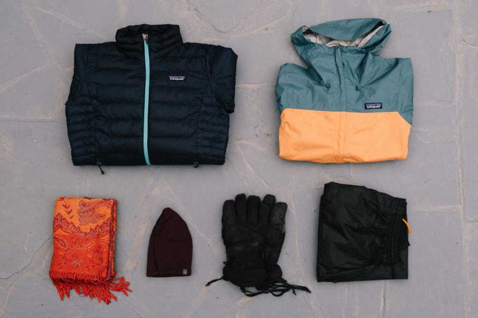 Women's bikepacking clothes cold weather