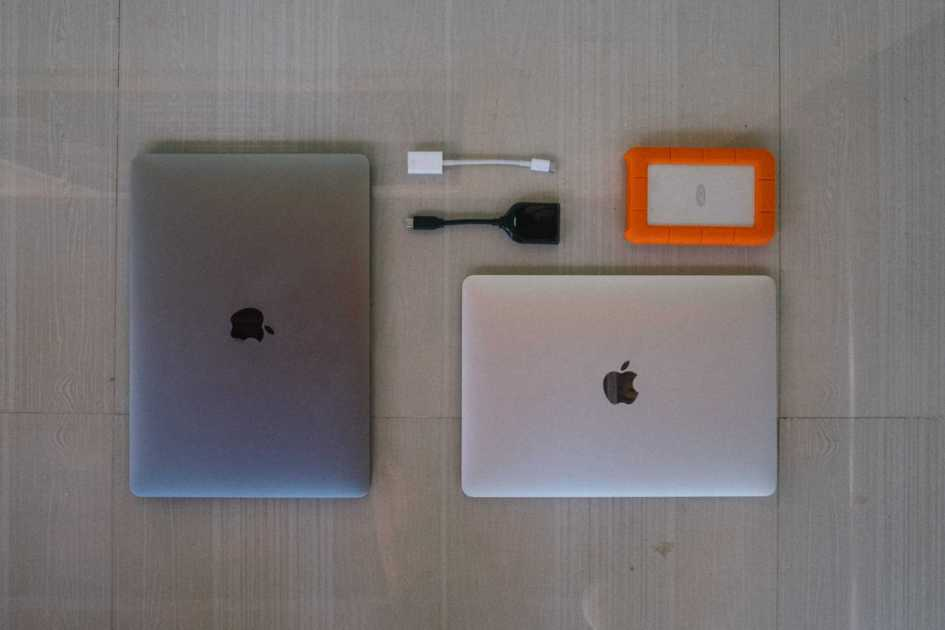 Macbook, MacBook Pro and LaCie