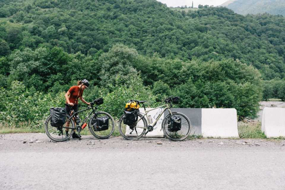 Bike touring in Georgia