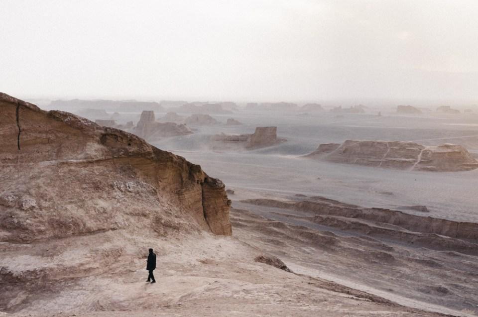 Kaluts in the Dasht-e-Lut desert