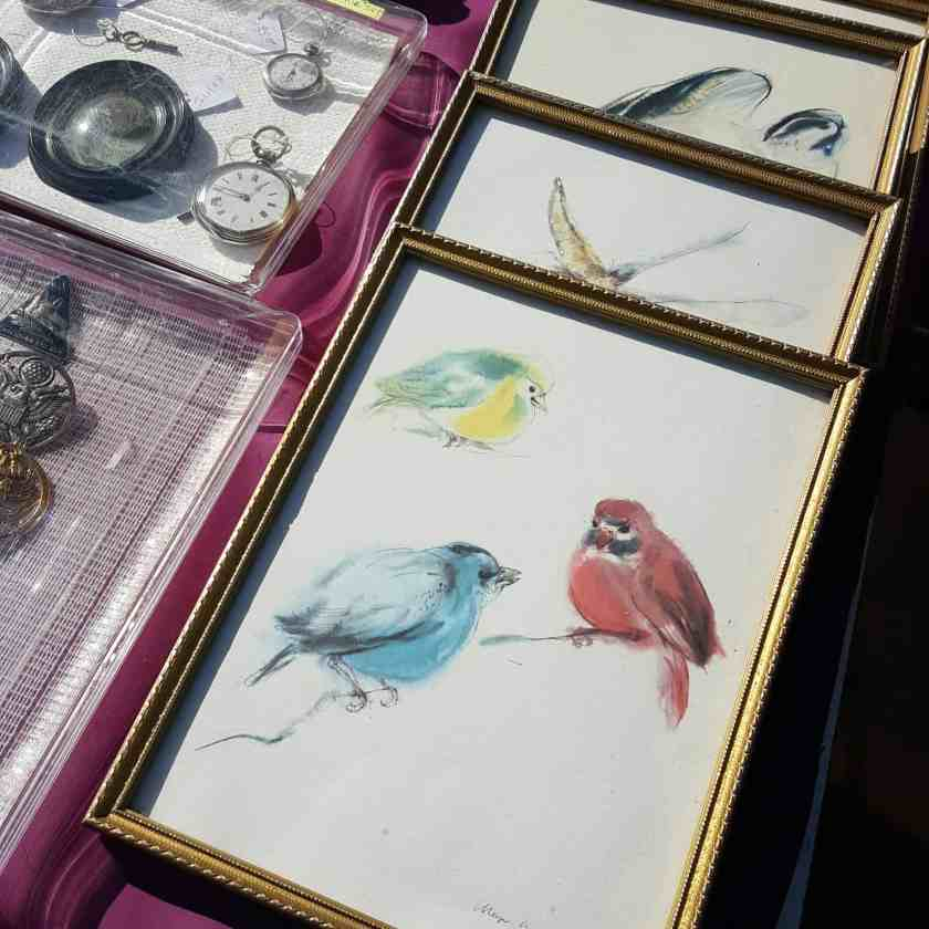 flea market at vanves