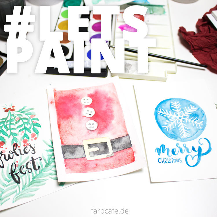 Lets Paint Christmas Cards