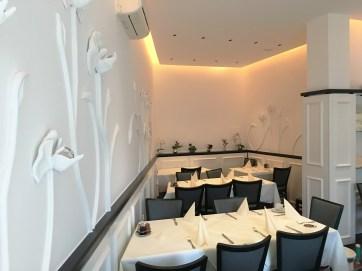 Raumgestaltung Restaurant - Wandorenament