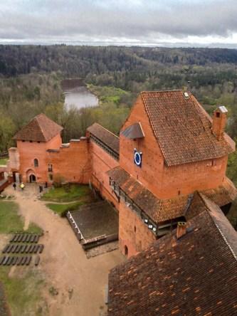 auf der Burg Turaida..
