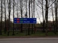 auf dem Weg durchs Baltikum!