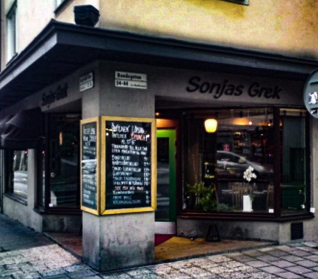 Sonjas grek på Södermalm