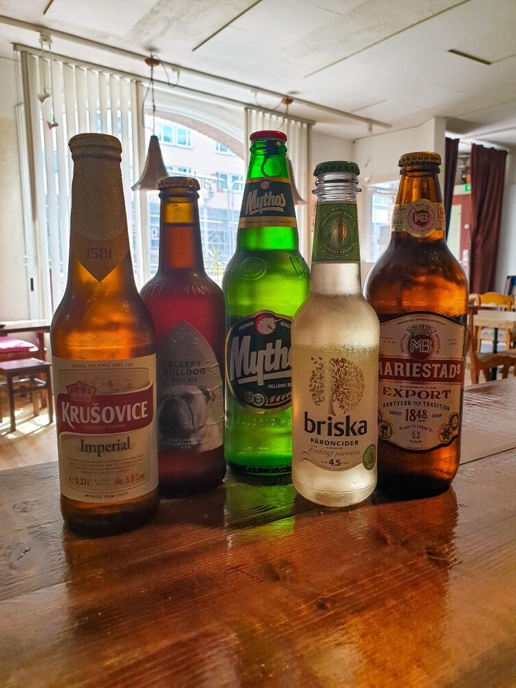 Öl, cider & ale som after work på Södermalm hos Farbror Nikos