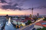 Stadt-Idylle (Berliner Skyline)