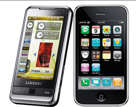 Samsung Omnia better than iPhone 3G ? - Fareastgizmos