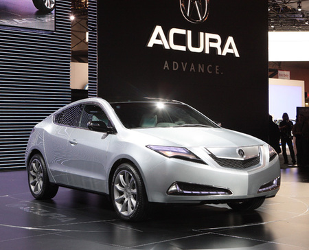 All New Honda Acura ZDX Makes Its World Debut At The New York International Auto Show