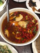 Spicy soup (similar to mapo doufu)