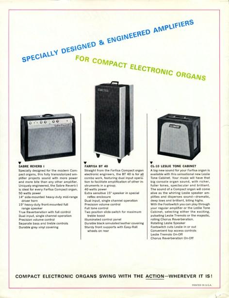 Farfisa Amplifiers
