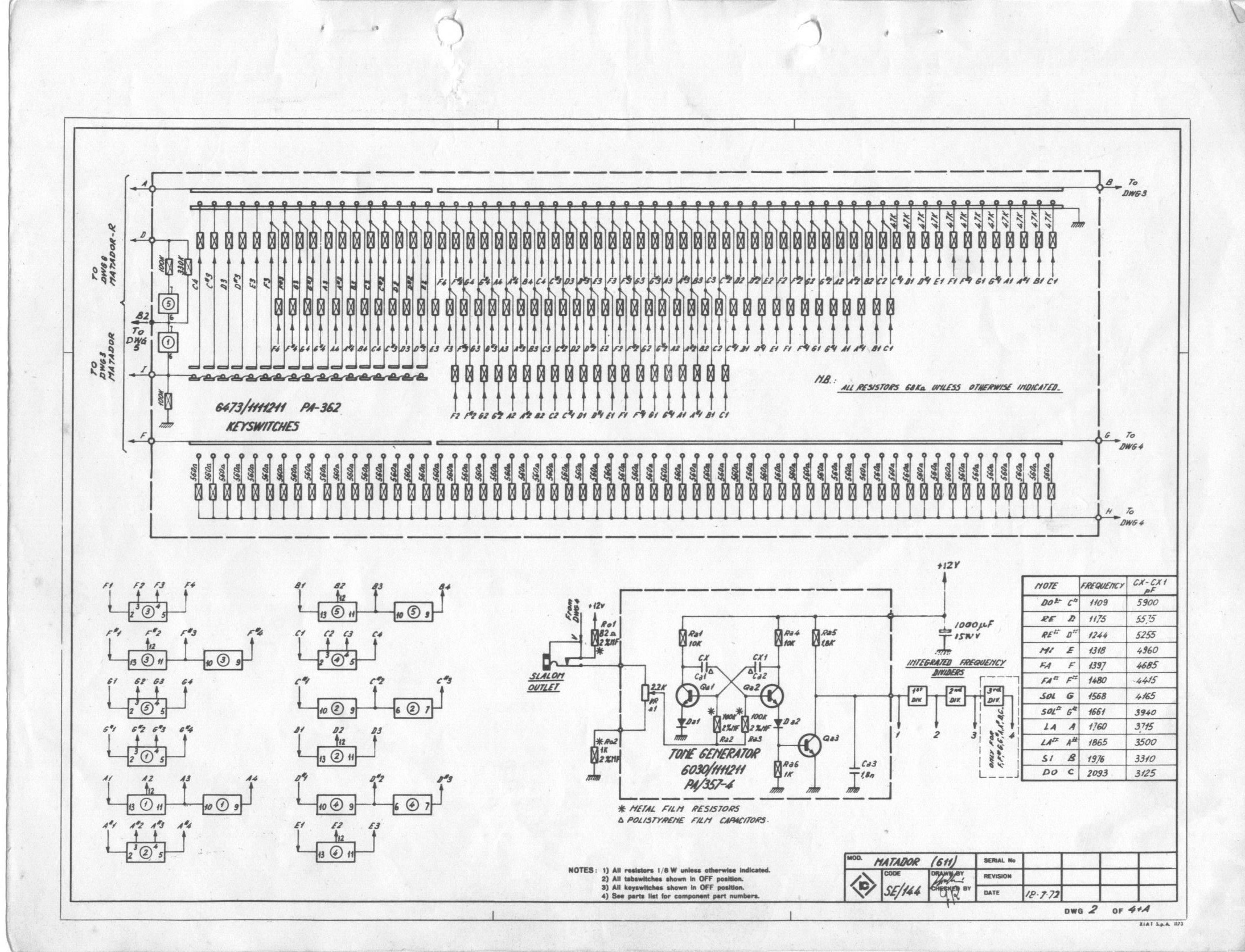 Schematics Archives Electronic Block Diagram If You Need To Save Them Or Look At A Larger Version Of The Page Just Right Click Image And Target As Matador Schematic