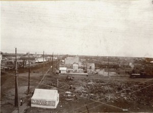 Ruins of the Fargo Fire, June 7th, 1893