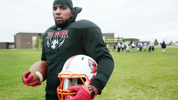 Invaders Cornerback Sloan's Journey From The Streets Of Southern California To Trainer And Mentor In Grand Forks