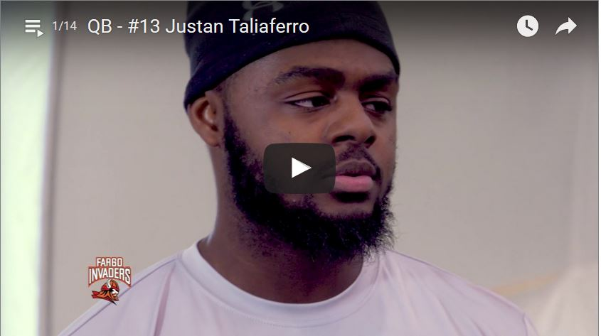 Quarterback Justan Taliaferro Interview